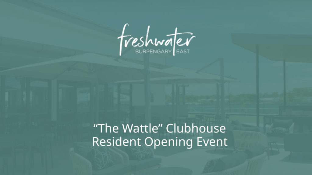 Freshwater by Ingenia Lifestyle Clubhouse opening for residents at Burpengary East