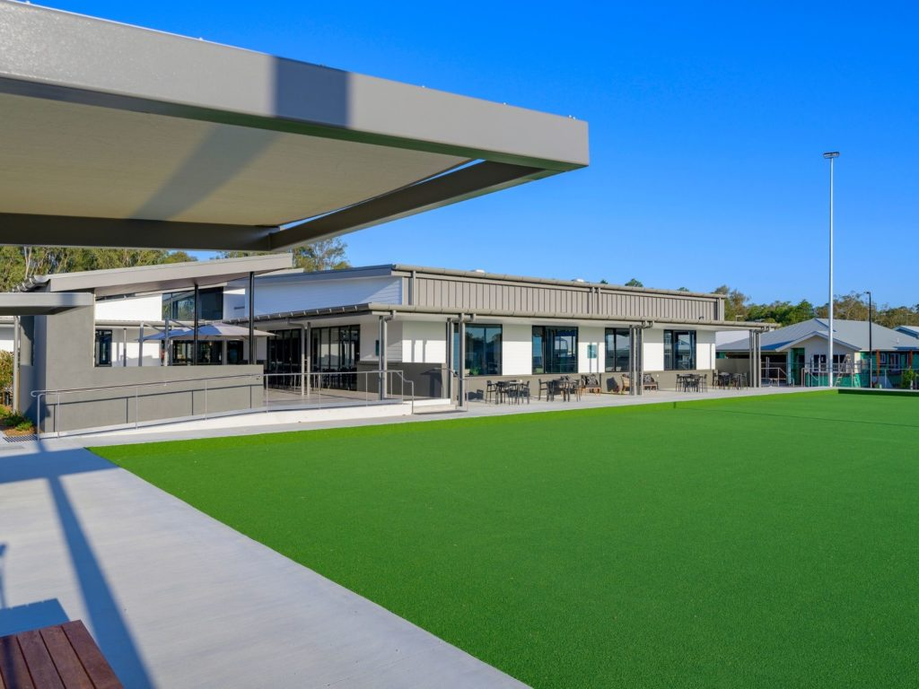 Freshwater by Ingenia Lifestyle over 50s lifestyle community living at Burpengary East at Lawn Bowls